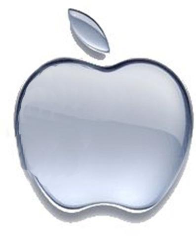 fake apple logo