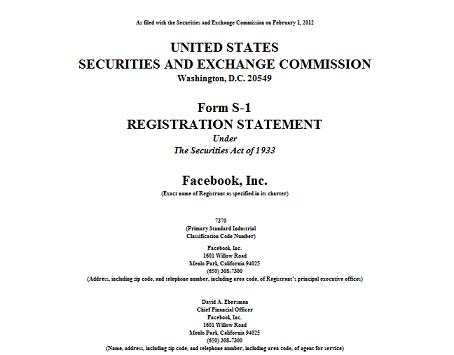 facebook SEC