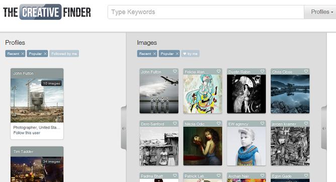 Creative Finder