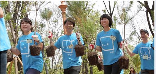 TP_5 Korean Mobile App Tree Planet, Turns Growing Virtual Trees into Planting Real Trees South Korea