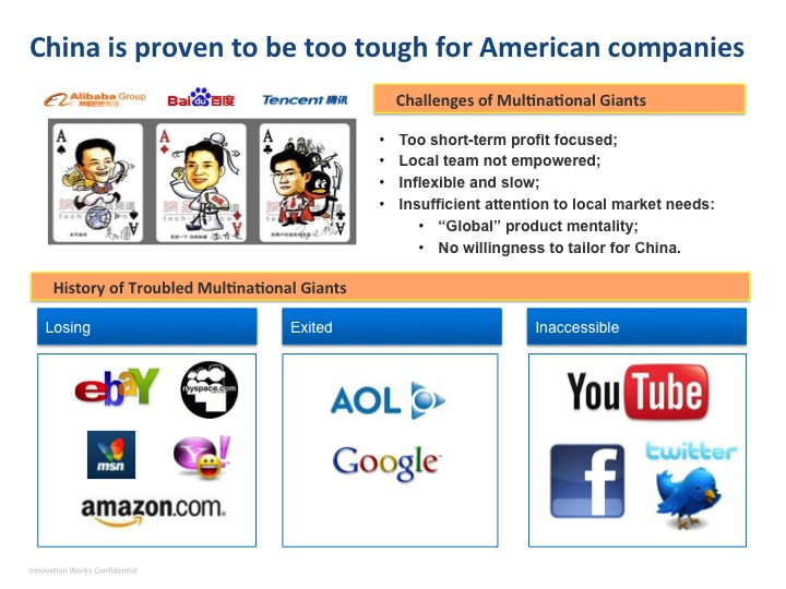 Why American Internet companies fail in China · TechNode