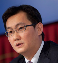 Tencent CEO Pony Ma