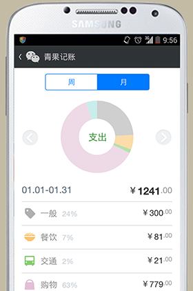 qingguo jizhang wechat based daily expenses tracking app technode