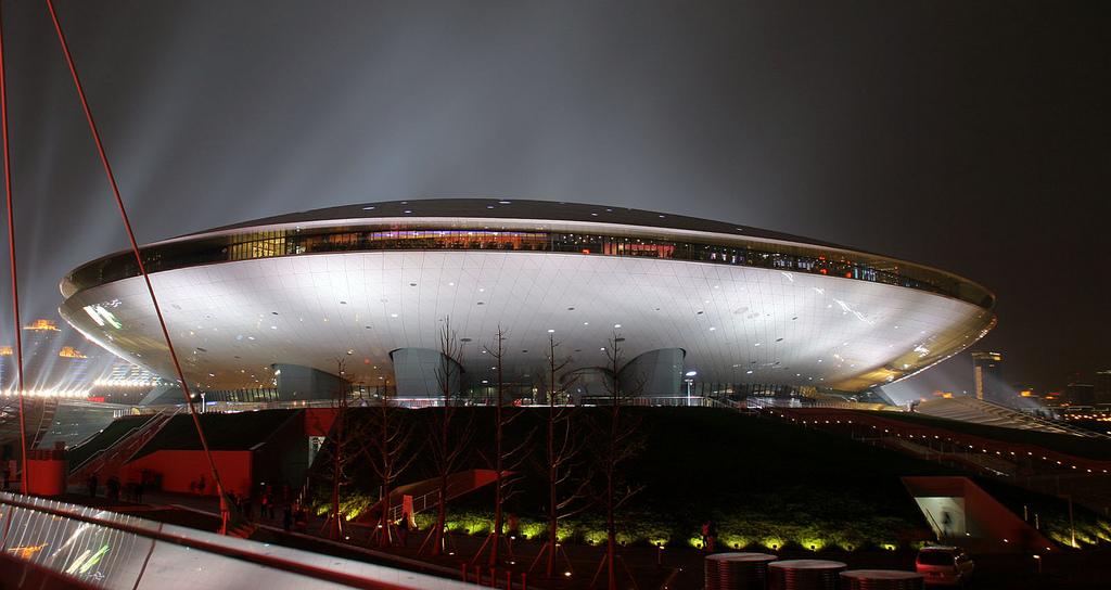 Mercedes-Benz Arena(Shanghai)/image: Wikipedia