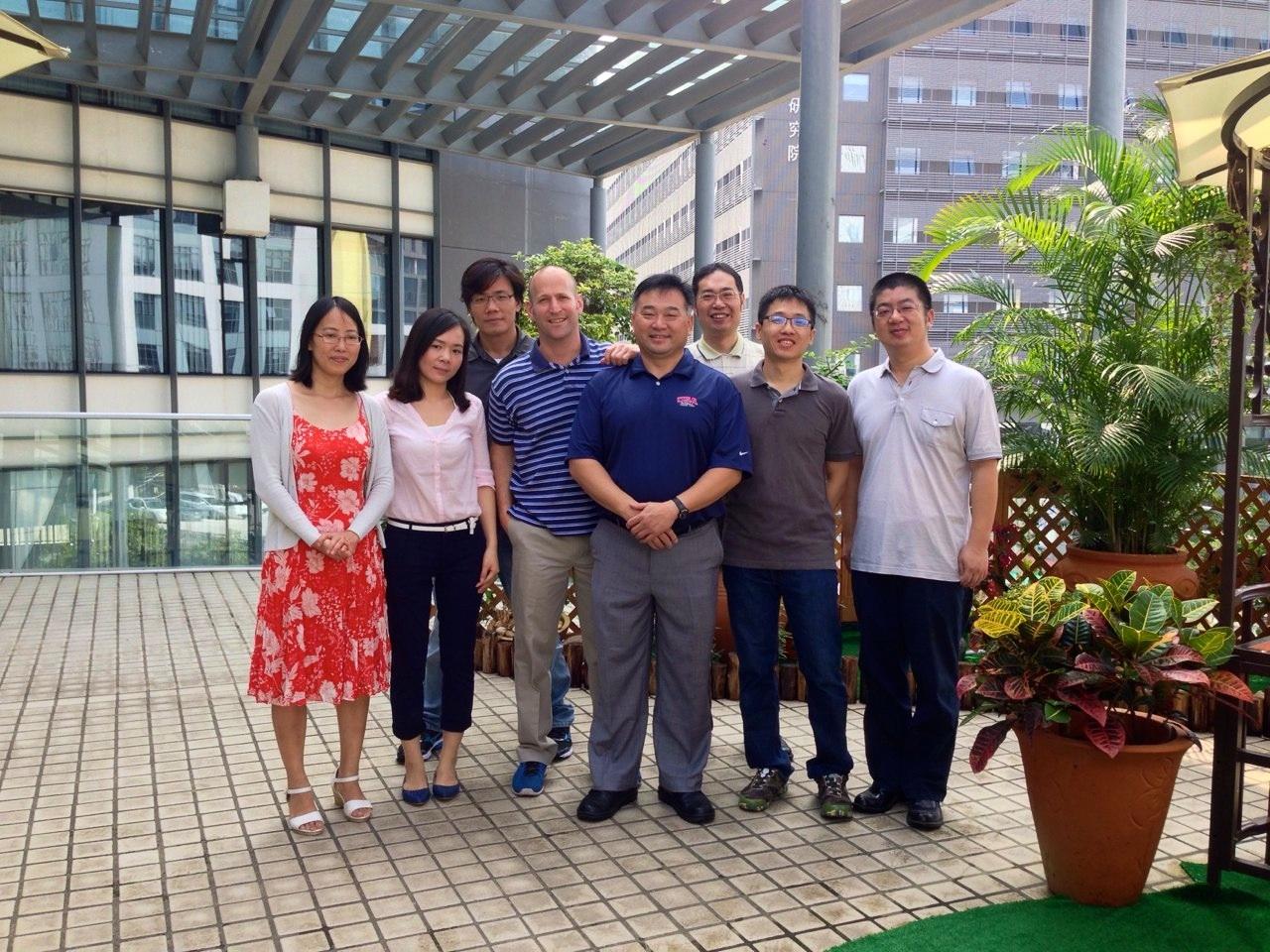 David Friedman with Ayla China Team