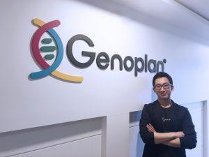 Genoplan founder Brian Kang