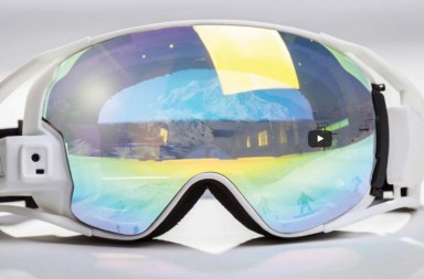 Rideon's augmented reality goggles for snowboarders