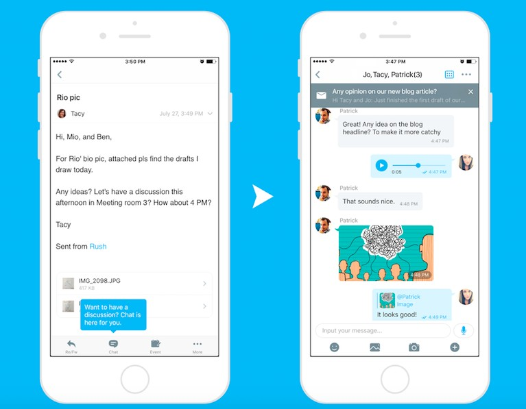 This startup wants to bridge the gap between chat and email