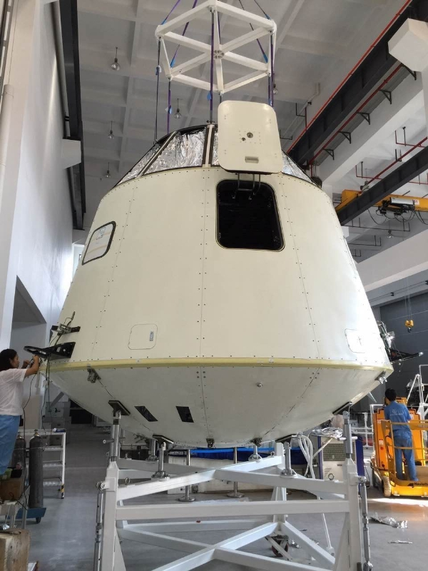 kuangchi_beta_cabin The 'Chinese SpaceX' Will Test Space Balloon Flights With Animals This Year kuang-chi Features Elon Musk CHINA