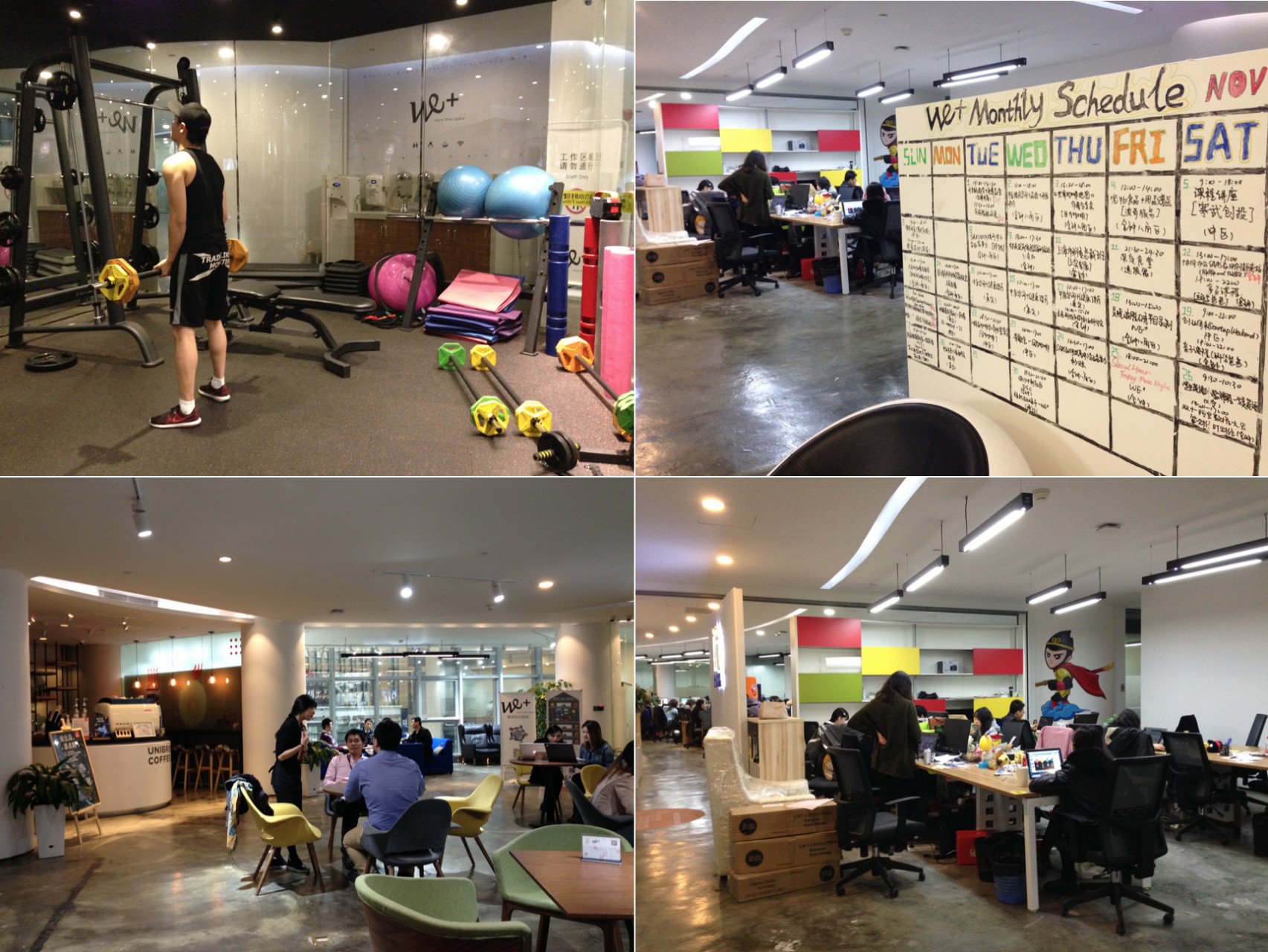 we- We checked out 8 co-working spaces in Shanghai, so you don't have to XNode WeWork Sandbox rental economy People Squared naked Hub Features Distrii Co-Working Space CHINA Agora Space