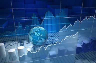 16413399 - stock exchange board, abstract background