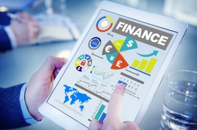 41400324 - finance bar graph chart investment money business concept