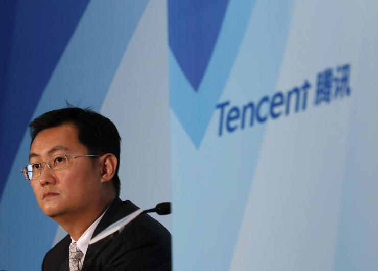 Tencent to restructure as market value tanks