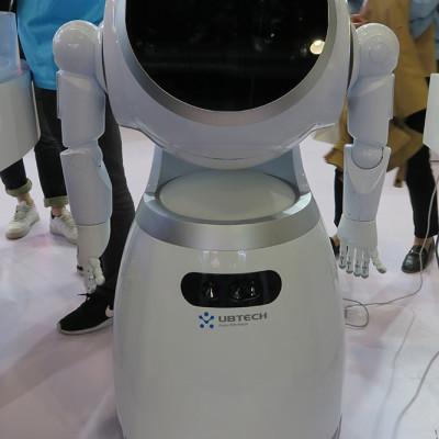 Ubtech's B2B offering, the Cruzr robot