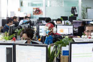 Staff in a Virtuos studio. (Image credit: Virtuos)