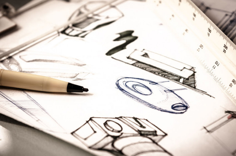 33753577 - idea sketch of product design