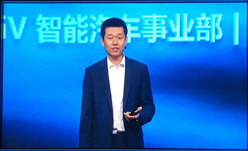 Baidu GM of Intelligent Vehicles Division