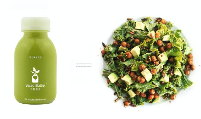 Salad Bottle – liquid salads for the Chinese market using HPP technology