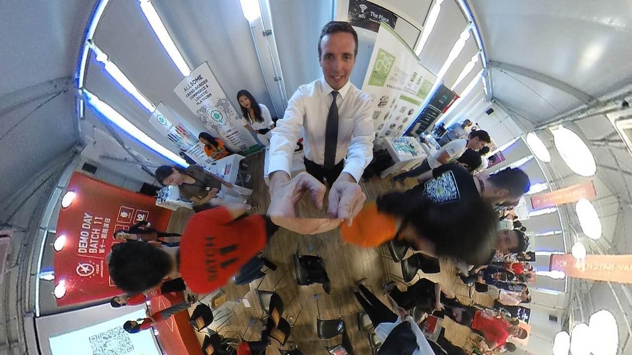 CEO of B2 Talent Asia, Jonathan Serbin