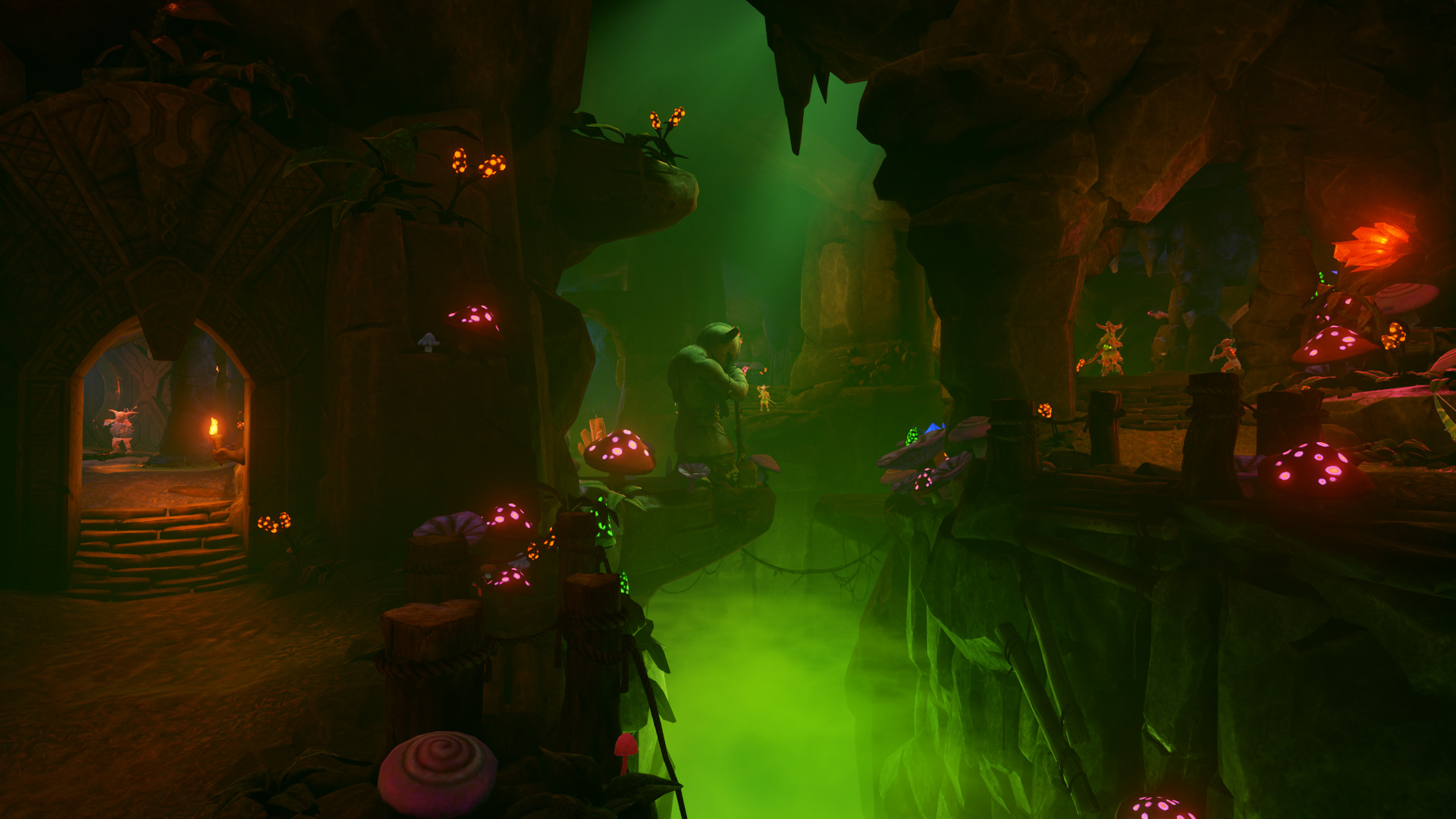 Inside the VR world of Karnage Chronicles by Nordic Trolls VR (Image credit: Nordic Trolls VR)