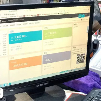 Backend of store management platform (Image Credit: Wifi Connected)