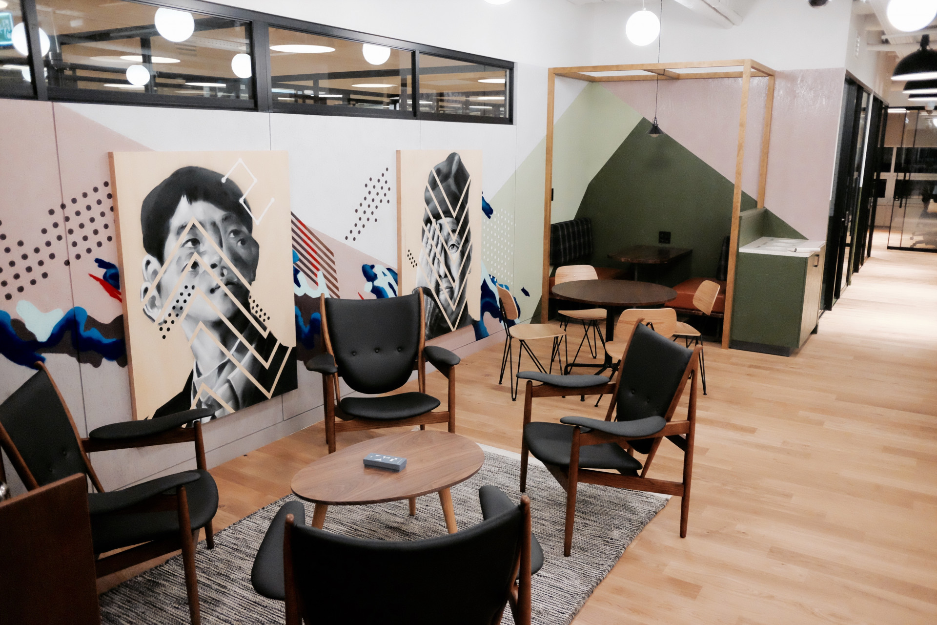 Common area of the Gangnam Station location in Seoul, South Korea (Image credit: WeWork)