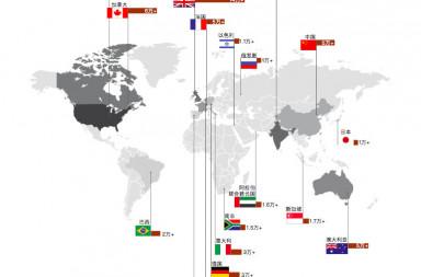 LinkedIn AI worldmap