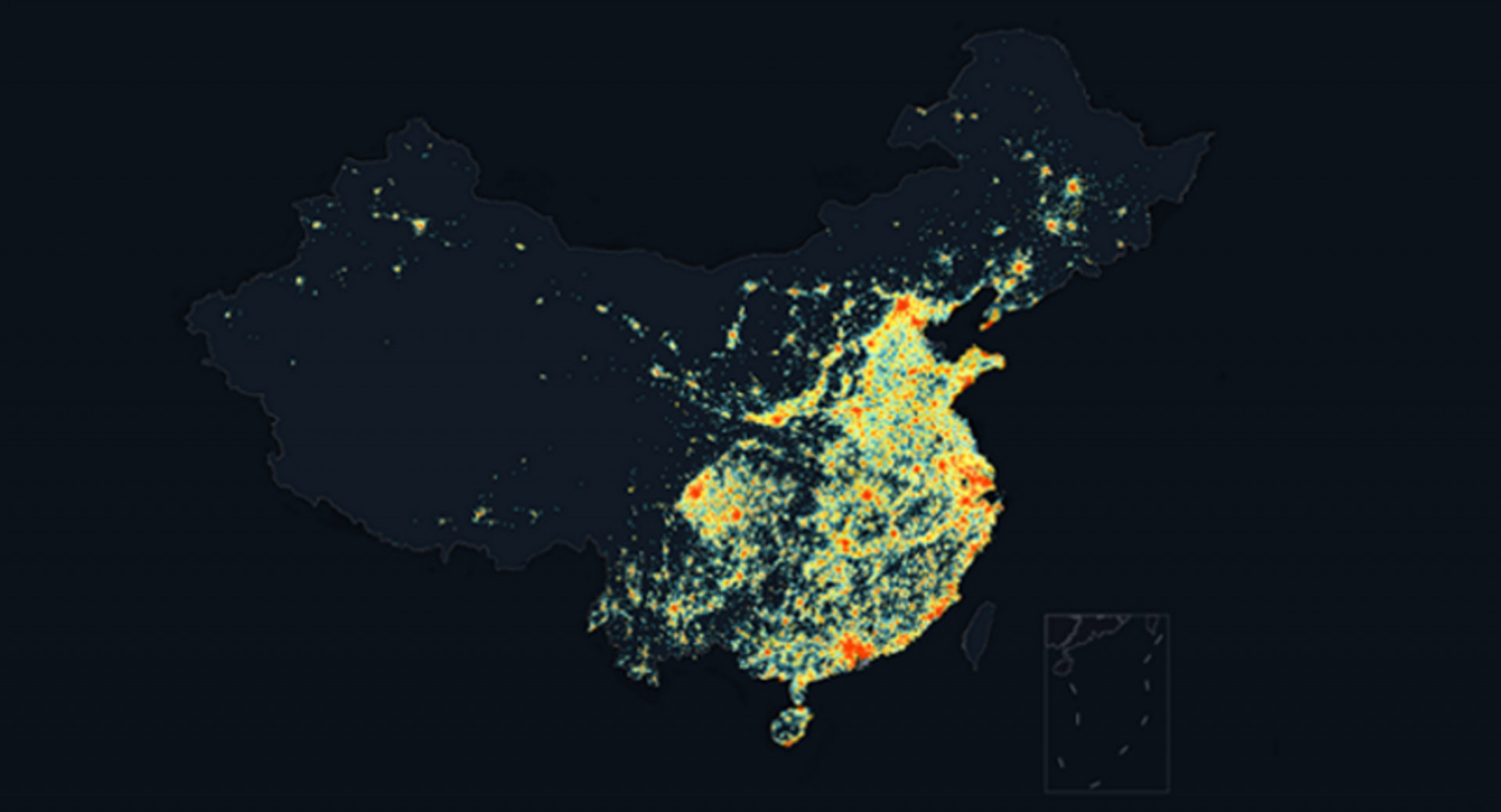 DiDi can monitor in real time, from which area a user is calling DiDi (Image Credit: DiDi)
