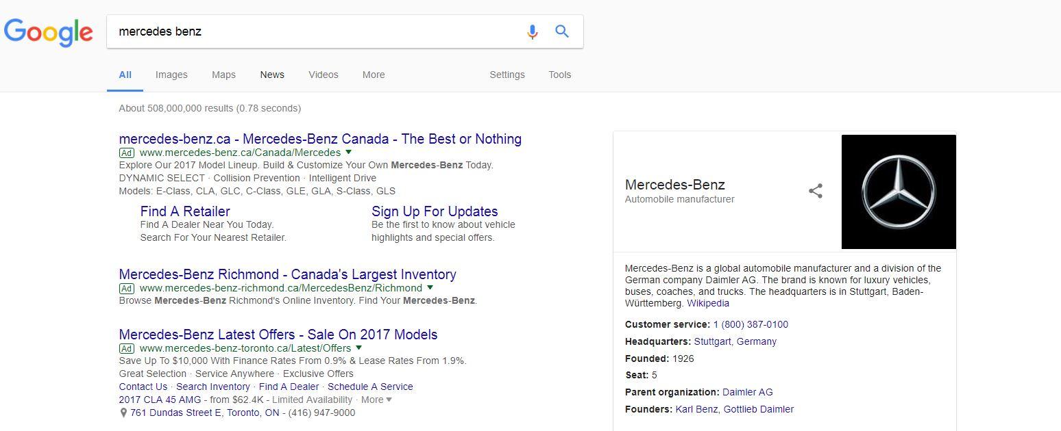 google merc