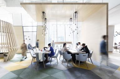 Prototype Jen Hotel coworking space