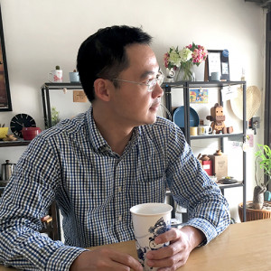 Add Ons founder Ivan Lin at relaxing at the office. (Image credit: Add Ons)