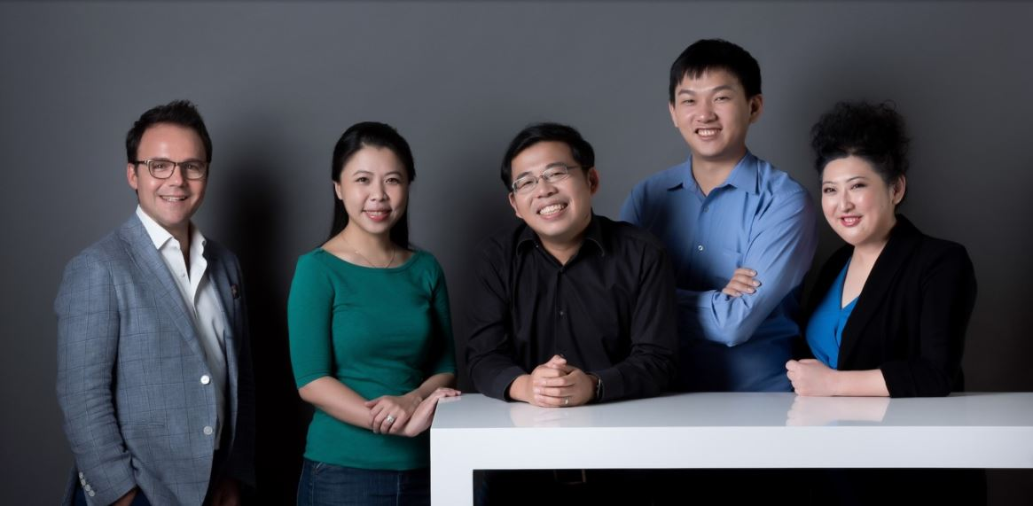 The Appier senior management team. Winnie Lee is second from left. (Image credit: Appier)