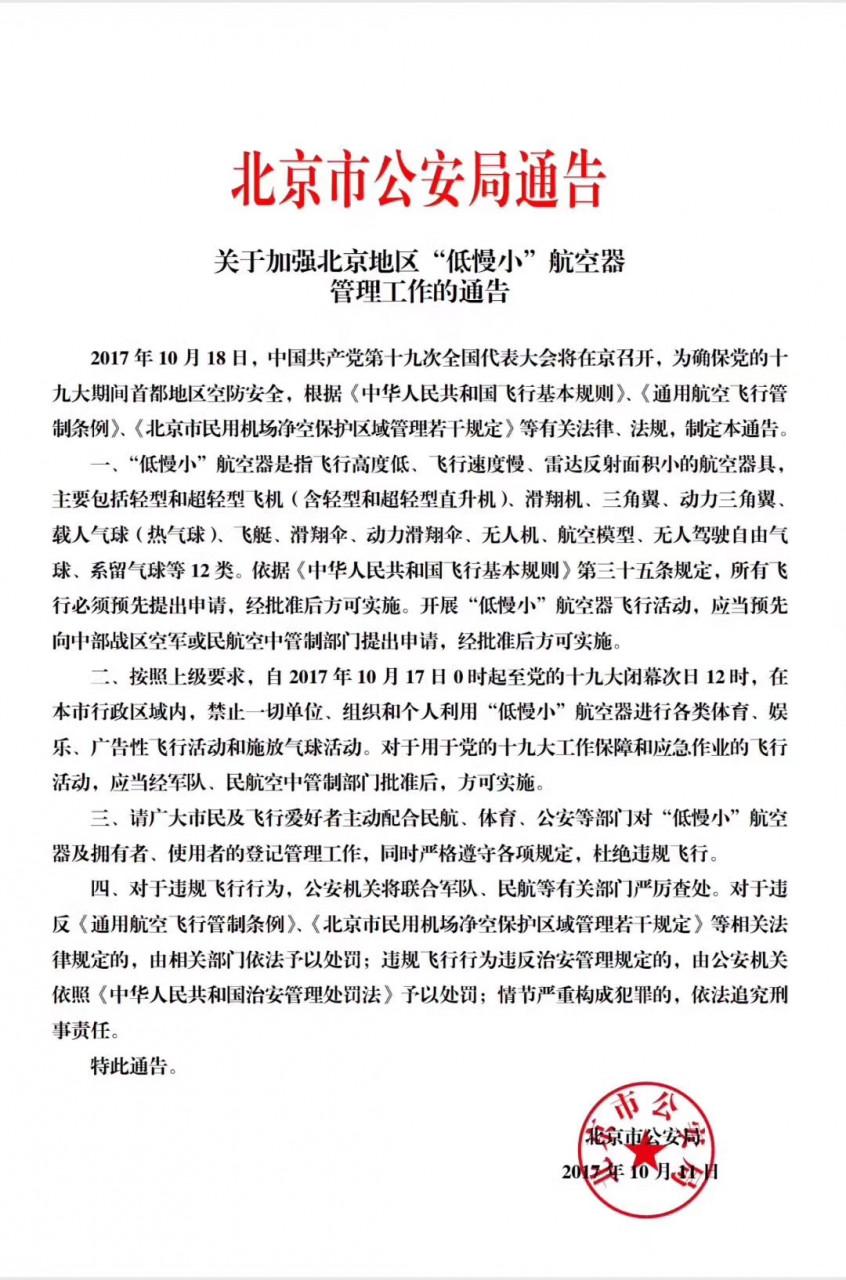 drones ban china