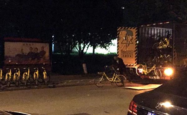 Illicit ofos unloading Shanghai