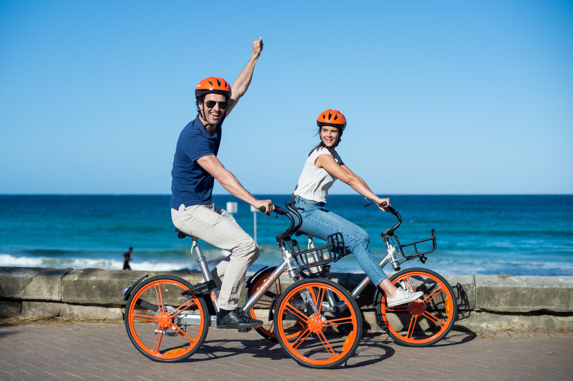 Mobike Australia Gold Coast launch