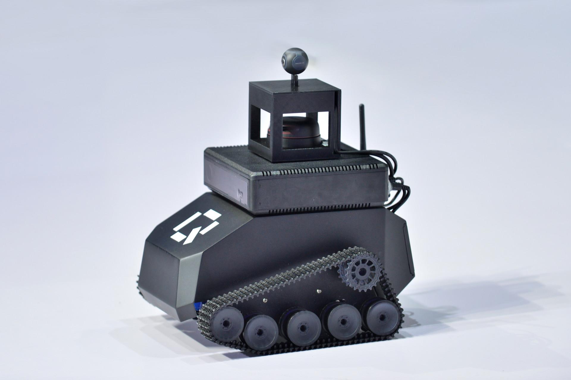 Raven Q sensory robot