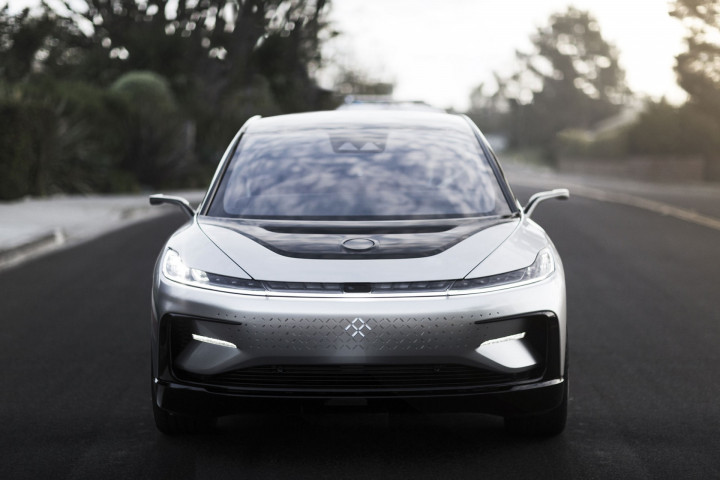 Faraday Future's FF91 electric crossover vehicle (Image credit: Faraday Future)