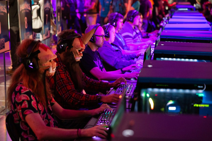 Gamers at Blizzard's annual BlizzCon conference in 2018. (Image credit: Blizzard Entertainment)